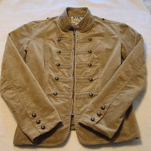 Madness jacket full zip military inspired tan